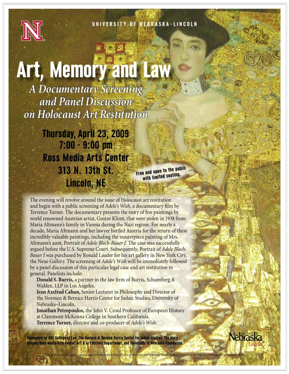 Art, Memory, and Law